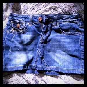 Vigoss jean skirt